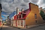 Quebec, Upper Town. HDR