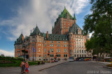 Chateau Frontenac; HDR