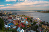 Lower Town and St. Lawrence River, HDR
