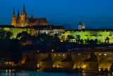 Prague Castle and Karluv Bridge