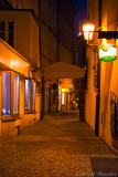 Small PAssages in Night Prague