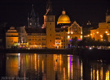 Vltava East Bank at Night