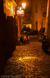 In the Alleys of Night Prague