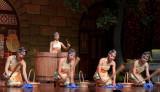 Maidens drumming