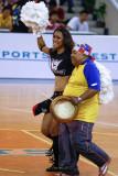 Fan with cheerleaders (WS2197.jpg)