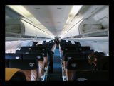 Midwest Airlines MD-81 Super 80 Cabin Interior