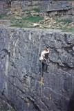 CC Downholm Quarry a First Ascent 1967