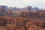 Views from Hunts Mesa, Monument Valley