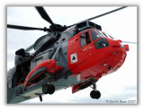 Royal Navy Rescue Helicopter