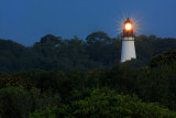 Lighthouse and Trees