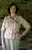 Wisteria Blouse Front