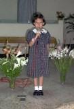Cantando en la iglesia