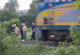 Pedestrian Hit By Train