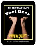 feet beer proposed label