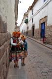 Locals at Cusco