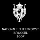 NATIONALE BIJEENKOMST BRUSSEL 2007