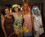 Halloween Girls of El Pozo Restaurant