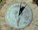 Sundial at MUN Botanical Garden 002
