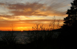 DSC05699 - Sunset Over Windsor Lake