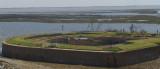A Birdseye View Inside Fort Pike