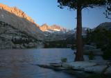 Sunset - Blue Lake