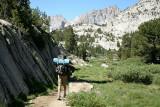 Hiking Further into Sabrina Basin