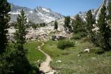 Trail - Upper Sabrina Basin