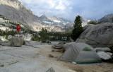 Camp at Blue Lake