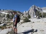 Hiking Toward Mt Wallace