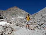 At 12,500', Below Mt. Wallace