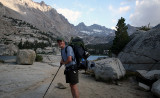 Tired - Hiking Out Past Blue Lake