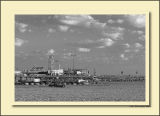Santa Monica Pier ~ Labor Day 2006 BW