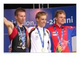 Sergey Jakovlev (l), Jonathan Zipf (m) & Youri Severin (r)