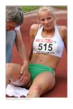 Sharona Bakker: hamstring injury on 100m hurdles