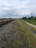 Railway near Siemianowka Lake