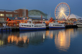 Chicago Navy Pier at Dusk