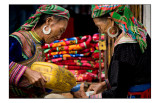All you can drink with the flower Hmong people