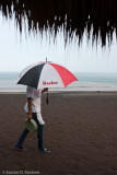 Waitress with Umbrella