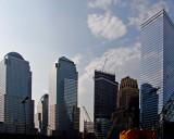 Construction around Ground Zero
