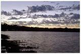 Sunset glow Whiterock lake-fall 2006