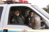 Ontario Provincial Police in Ford Excursion
