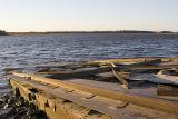 Marine railway used for launching tugs