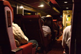 1:30 am on a very late Polar Bear Express, 90 minutes north of Cochrane