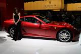 Mondial de l'Automobile 2008 - Sur le stand de la marque Ferrari