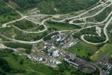 Les 6 heures de Pelves 2008 - Survol de la piste en hélicoptère