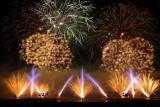 Nuits de feu 2008 - Compétition internationale de feux d'artifices au château de Chantilly