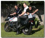 Me Three  on a bike
