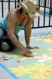 Chalk artist