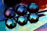 Three glass marbles