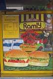 Stall of the famous Ramly Burger